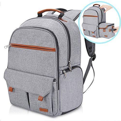 Endurax Waterproof Camera Backpack for Women and Men Fits 15.6″ Laptop with Build-in DSLR Shoulder Photographer Bag