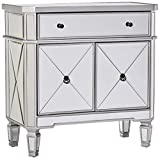 Product review for Powell Mirrored 1-Drawer, 2-Door Console