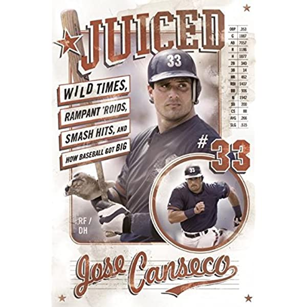 Juiced: Wild Times, Rampant 'Roids, Smash Hits, and How Baseball Got Big  (9780060746414): Canseco, Jose: Books - Amazon.com