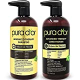 PURA D'OR Advanced Therapy System - Biotin Shampoo &...