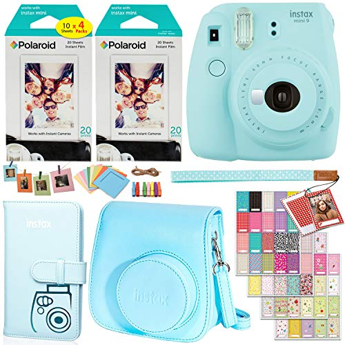 Ritz Camera Fujifilm Instax Mini 9 Deluxe Bundle