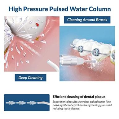 Caresmith-Professional-Cordless-Oral-Flosser-300-ml-Large-Detachable-Water-Tank-3-Modes-IPX7-Waterproof