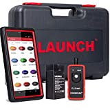 LAUNCH X431 Pro Mini WiFi/Bluetooth Full System OBD2 Scanner with ECU Coding, Injector Coding,Key Fob Programming,Oil Reset TPMS,BMS,SAS,DPF,EPB,ABS Bleeding + TPMS Activation Tool EL-50448 As Gift
