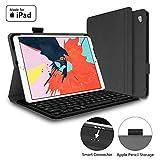 Mangotek iPad Pro Keyboard Case, 10.5 inch iPad Pro Air Wireless Smart Connector Keyboard. Slim Combo Lightweight Folio PU Leather Cover for iPad Pro Air (2019) 10.5'