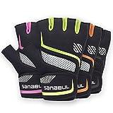 Sanabul New Item Paw V.2 Gel Boxing MMA Kickboxing Cross Training Handwrap Gloves (Green, S/M)