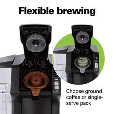 Hamilton-Beach-FlexBrew-Single-Serve-Maker-with-40-oz-Reservoir-Compatible-with-Pods-or-Ground-Coffee-3-Brewing-Options-Black-and-Silver-49948