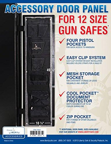 Liberty Safe Gun Safe Door Panel Organizer for...