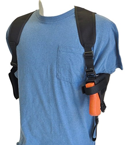 Shoulder Holster for Springfield XDs 3.3' Barrel 9mm & 45 Very Compact with Double Mag Pouch