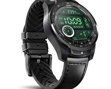Mobvoi TicWatch Pro SmartWatch- Black (30-Days Battery Life)