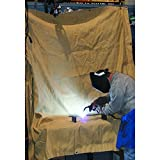 Agyle Products Welding Blanket, Fiberglass Protection Extra Large, 6 FT by 4 FT, Welding Work Area