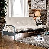 Furniture of America Brocko 70' x 50' Futon Mattress in White