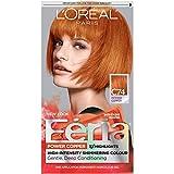 L'Oréal Paris Feria Multi-Faceted Shimmering Permanent Hair Color, C74 Copper Crave (Intense Copper), 1 kit Hair Dye