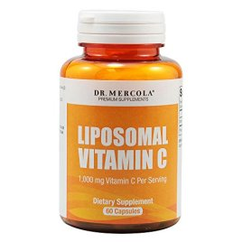Dr. Mercola Liposomal Vitamin C 1.000mg per Serving – 60 Capsules – 30 Servings – Higher Bioavailability Potential & Protection Against Intestinal Discomfort