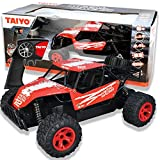 Metal Racer, RC Truck Rock Crawler Dune Buggy, 1:18 Scale Remote Control Car with Battery, Electric Charger, and Handset for Offroad, High Speed, Fast Hobby Action for Kids and Adults, 2.4Ghz