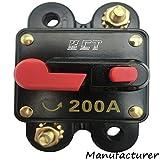 Car Audio Circuit Breaker Reset Fuse 200A For System Protection 12V/24V …