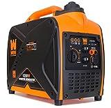 WEN 56200i, 1600 Running Watts/2000 Starting Watts, 4-Stroke Gas Powered Portable Inverter Generator, CARB Compliant