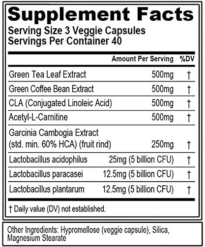 Evlution Nutrition Leanmode + Probiotic, Advanced Probiotic Capsule Supplement, 15 Billion CFUs per Serving, Digestive Support & Gut Health (40 Servings) 5