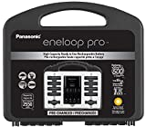 Panasonic K-KJ17KHC82A eneloop pro High Capacity Power Pack, 8AA, 2AAA, with'Advanced' Individual Battery Charger and Plastic Storage Case