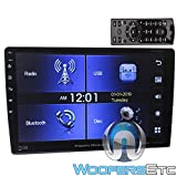 Power Acoustik PD-1060HB in-Dash 2-DIN 10.6' Touchscreen Swiveling DVD Receiver with Bluetooth V4.0 Connectivity and Android Phonelink