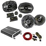 Kicker Speaker Package 40CSS694 6x9 40CS654 6.5' DXA 250 watt 4 Channel amp Wiring kit.