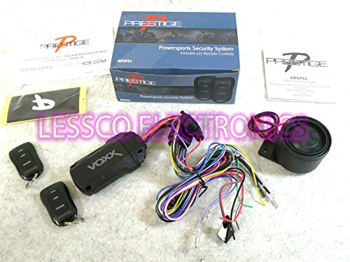 Details About Prestige APSPS1 Powersports Motorcycle Security Alarm System for Recreational Vehicles