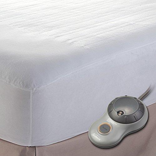 Sunbeam Heated Mattress Pad | Polyester, 10 Heat Settings, King