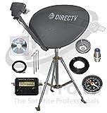 DirecTV SL3 HD Portable Satellite Dish Mobile tripod kit Rv Tailgating Camping