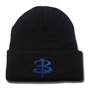 Buffy the Vampire Slayer Logo Beanie Fashion Unisex Embroidery Beanies Skullies Knitted Hats Skull Caps