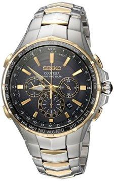 Seiko Men's SSG010 COUTURA Analog Display Japanese Quartz Two Tone Watch