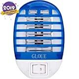 GLOUE Bug Zapper Electronic Mosquito Zapper Electronic Insect Killer Eliminates Most Flying Pests Latest Type in 2019