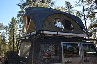Raptor-Series-100000-126800-OFFGRID-Voyager-Jeep-Truck-SUV-Camping-Rooftop-Tent-with-Ladder