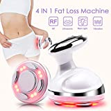 Fat Loss Machine 4 in 1 R/F Sonic Vibration Weight Loss Remover with Red Light Fat Melting Massager for Arm Stomach Leg Sliming Device