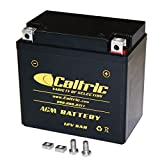CALTRIC AGM BATTERY compatible with YAMAHA YFZ450R YFZ-450R YFZ450RSE 2009-2013