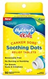 Canker Sore Treatment for Kids by Hyland's 4Kids, Natural Pain Relief of Mouth Ulcer, Braces, and Oral Irritation, 50 Tablets