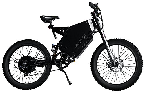 Addmotor TORETTO Electric Bicycles Mountain Electric Bikes 3000W Rear Hub Brushless Motor With 60V 29AH Lithium Battery E-bicycle T-3000 Ebike (Black)