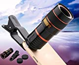Chusea Deserve to Buy Telephoto Lens,8X Zoom Universal Telephoto Lens for Smartphone and Mobile Phone