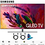 Samsung QN55Q7F QN55Q7 55Q7 55Q7F 55' Q7FN Smart 4K Ultra HD QLED TV (2018) (QN55Q7FNAFXZA) with 2X 6ft High Speed HDMI Cable + Universal Screen Cleaner for LED TVs