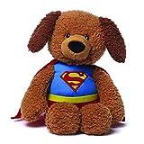 "GUND DC Comics Superman Griffin Teddy Bear Stuffed Animal Plush, 12"""