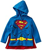 Superman Hoodie Sweatshirt with Cape, Toddler Size 3T