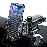 VANMASS Car Phone Mount, Dashboard Windshield Air Vent Cell Phone Holder for Car with Vent Clip & Dashboard Pad, Strong Sticky Suction, One Button Release Car Cradle, Compatible 3.5'-6.5' Phone & Case