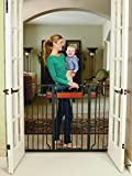 Regalo Home Accents Extra Tall Walk Thru Gate, Hardwood and Steel