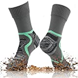 100% Waterproof Hiking Socks, [SGS Certified] RANDY SUN Unisex Ventilated Breathable Skiing Trekking Sock