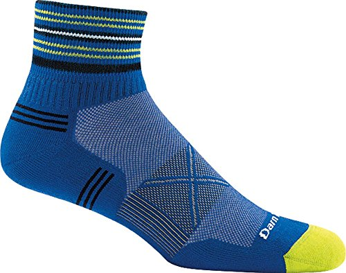 Darn Tough Coolmax Vertex 1/4 Ultra-Light Sock - Men's Marine Large