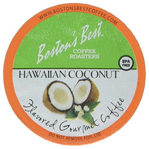 Boston's Best Single Serve K-Cup Coffee, Hawaiian Coconut, 42 Count
