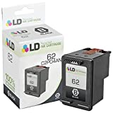 LD Remanufactured Ink Cartridge Replacement for HP 62 C2P04AN (Black)