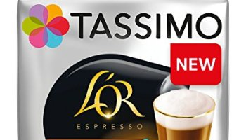 Tassimo Lor Espresso Delicious Coffee Pods Pack Of 5 80