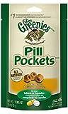 FELINE GREENIES PILL POCKETS Cat Treats, Chicken, 45 Treats, 1.6 oz.