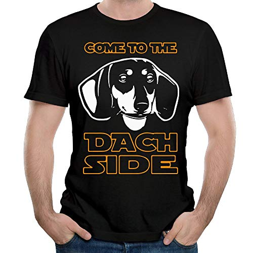 VESTone Come to The Dach Side - Dachshund Fashion Short Sleeve T Shirt