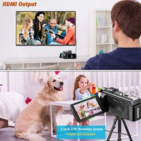 Video-Camera-Camcorder-for-YouTube-Aasonida-Digital-Vlogging-Camera-FHD-1080P-30FPS-24MP-16X-Digital-Zoom-30-Inch-270-Rotation-Screen-Video-Recorder-with-Microphone-Remote-Control-2-Batteries