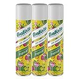 Batiste Dry Shampoo, Tropical Fragrance, 6.73 Fl Oz, Pack of 3